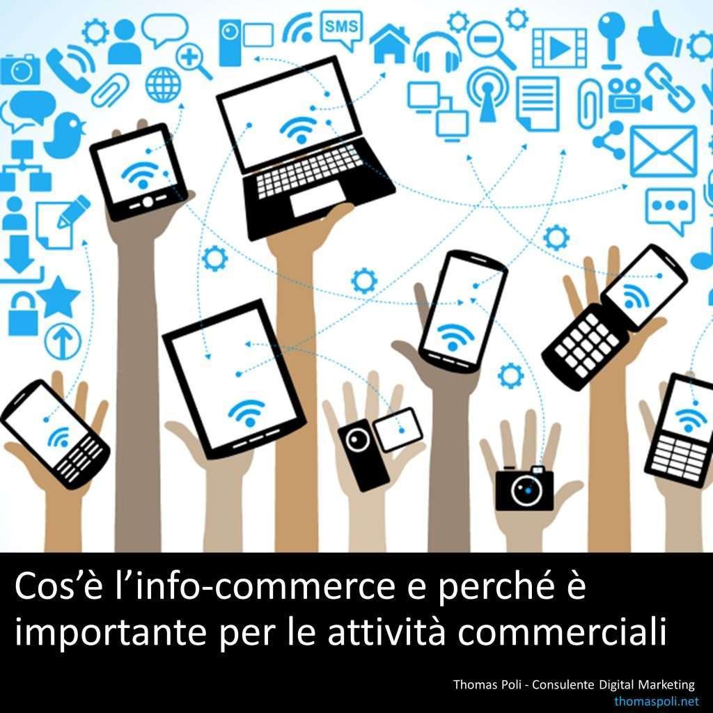 cos'è l'info-commerce e perchè è importante per le attività commerciali - Si! Hppy