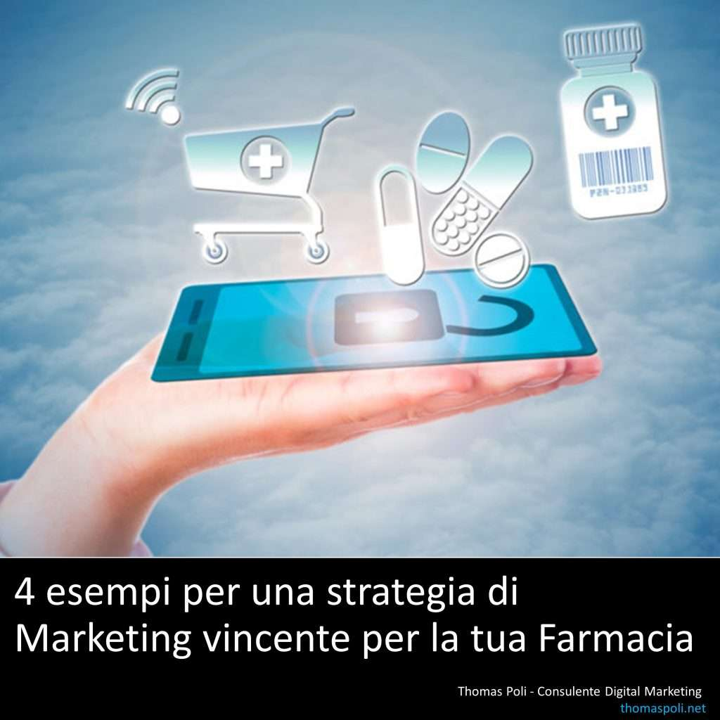 4 esempi per una strategia di Marketing digitale vincente per la tua Farmacie