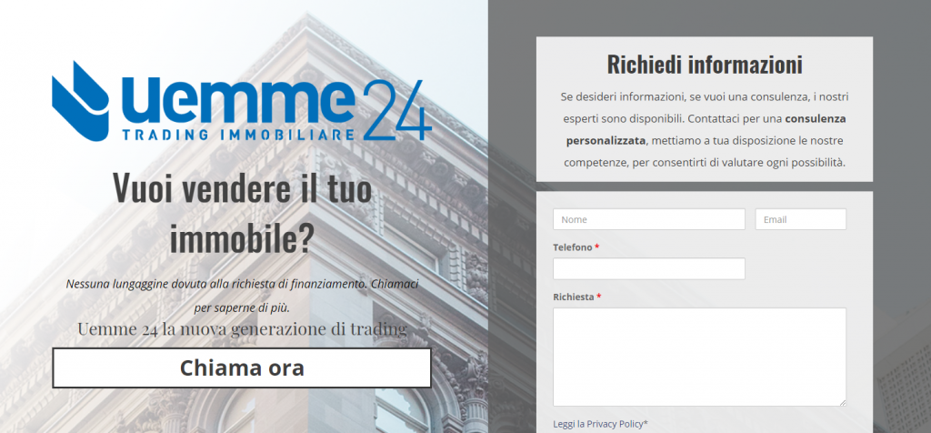 Cos'è una Landing page - Thomas Poli digital marketing